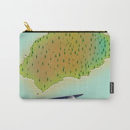 Saint Helena British Overseas Territory map Carry-All Pouch
