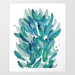Leaves Bloom Always Art Print