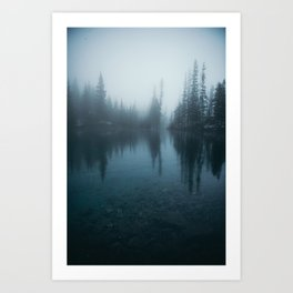 Grassi Lakes Art Print