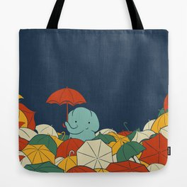Umbrellaphant Tote Bag