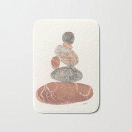 Pebbled Balance III Bath Mat