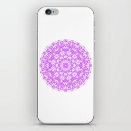 Mandala 12 / 1 eden spirit pink iPhone Skin