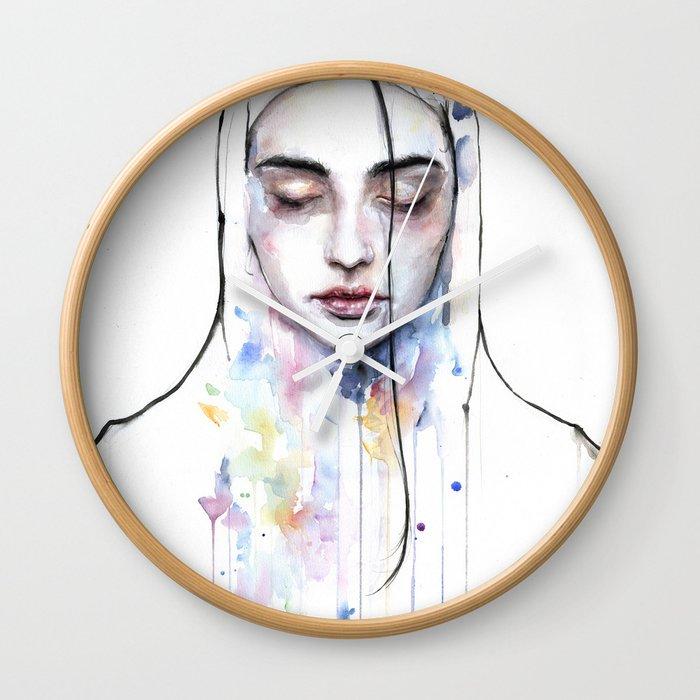 Habibi (nudity) Wall Clock