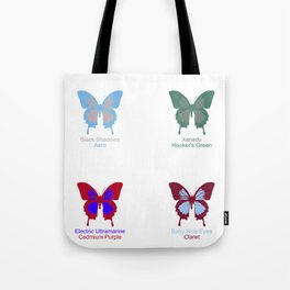 Butterflies 4 Tote Bag