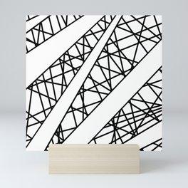 Lazer Dance X Mini Art Print