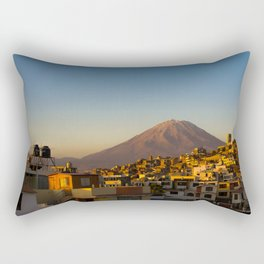 Misti Mountain Rectangular Pillow