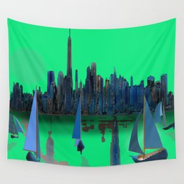 May arriving in New York - shoes stories Wall Tapestry
