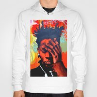 basquiat Hoodies featuring Basquiat  by jack shaftoe