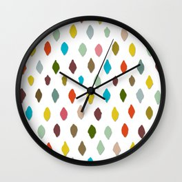 PIPS pure white Wall Clock