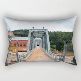 Dam And Powerhouse Rectangular Pillow