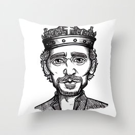 Hollow Henry V Throw Pillow