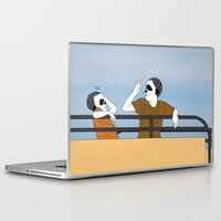 onward Laptop & iPad Skins featuring The Highest Five by Baby Nightsoil