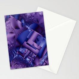 mandelbrot  structures Stationery Cards