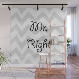 Mr. Right Wall Mural