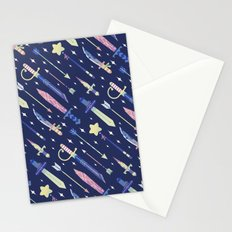 Magical Weapons Stationery Cards