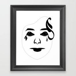Mask 1 Framed Art Print