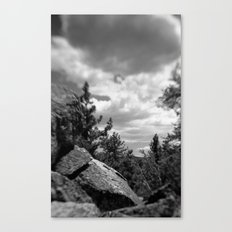 Storm a coming Canvas Print