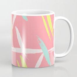 Brush stroke pattern Coffee Mug