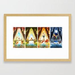 The Crossing (Full Series) Framed Art Print