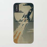 night iPhone & iPod Cases featuring Night Launch by Danny Haas