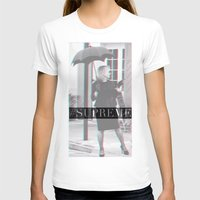 jessica lange T-shirts featuring Jessica Lange Fiona Goode Supreme by NameGame