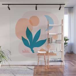 Abstraction_Nature_Companion_001 Wall Mural