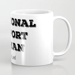 Emotional support human Coffee Mug