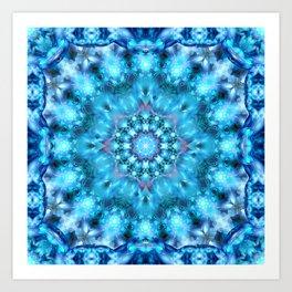 Cosmic Window Mandala Art Print