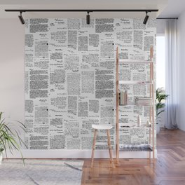 George Washington's Letters Wall Mural