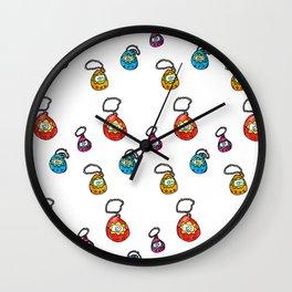 digital keychain pets Wall Clock
