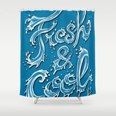 Fresh & Cool Shower Curtain