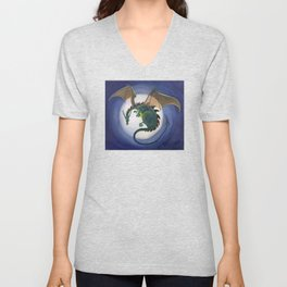 Fly Me To The Moon Unisex V-Neck