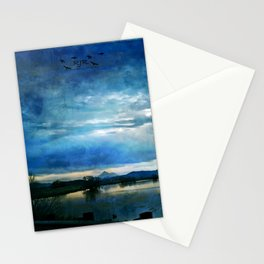 Dark Lake Stationery Cards