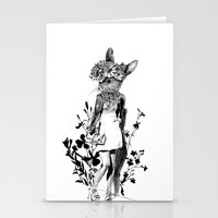 moose Stationery Cards featuring MOOSE by TOO MANY GRAPHIX