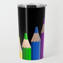 ColoredPencils Travel Mug