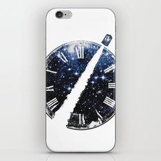 Journey through space and time iPhone & iPod Skin
