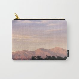 Sunset over Saddleback Mountain Carry-All Pouch