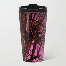 Spooky Trees - Pink  Travel Mug