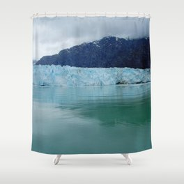 Alaska Blue Iceberg Pristine Wilderness Shower Curtain