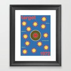 target single hop Framed Art Print