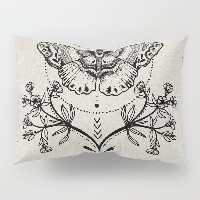 Magical Moth Pillow Sham