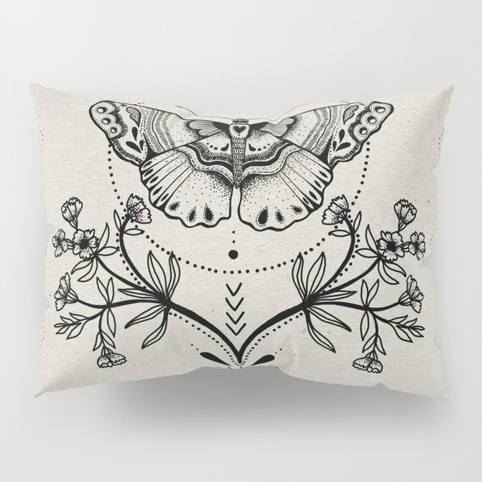 Magical Moth Pillow Sham