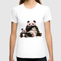 pandas T-shirts featuring Pandas by J ō v