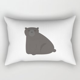 Bear.Poster for children. Animals. Poster with animals.  Rectangular Pillow