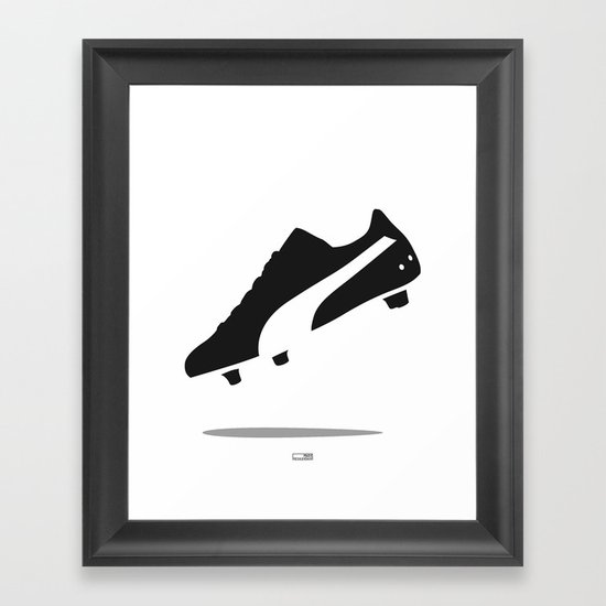Puma King Framed Art Print