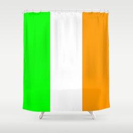 flag of ireland 5 -ireland,eire,airlann,irish,gaelic,eriu,celtic,dublin,belfast,joyce,beckett Shower Curtain