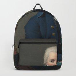 Jacques-Louis David - Portrait of Jacobus Blauw Backpack