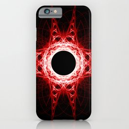 Red Abyss iPhone Case