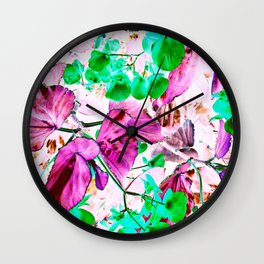 ... The one where he buys you Flowers <3 ... Wall Clock
