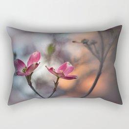 Dogwood Tree Rectangular Pillow